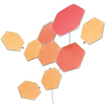 Nanoleaf - SET 9x Panneau dimmable LED RGB SHAPES HEXAGON LED/2W/230V