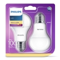 PACK 2x Ampoule LED Philips E27/13W/230V