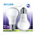 PACK 2x Ampoule LED Philips E27/6W/230V