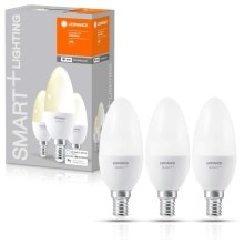PACK 3x Ampoule dimmable LED SMART+ E14/5W/230V 2700K wi-fi - Ledvance