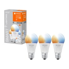 PACK 3x Ampoule dimmable LED SMART+ E27/14W/230V 2700K-6500K wi-fi - Ledvance