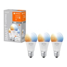PACK 3x ampoule dimmable LED SMART+ E27/9,5W/230V 2700K-6500K wi-fi - Ledvance