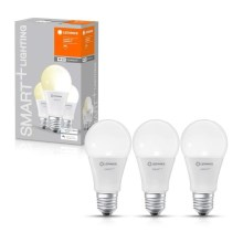 PACK 3x ampoule dimmable LED SMART+ E27/9,5W/230V 2700K wi-fi - Ledvance