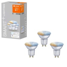 PACK 3x Ampoule dimmable LED SMART+ GU10/5W/230V 2700K-6500K wi-fi - Ledvance