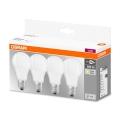PACK 4x Ampoule LED A60 E27/9W/230V 2700K - Osram