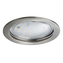 Paulmann 92782 - Luminaire LED à intensité modulable salle de bain COIN LED/14W/230V IP44