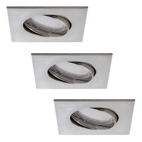 Paulmann 92841 - PACK 3x Spot encastrable LED salle de bain COIN 3xLED/7W/230V