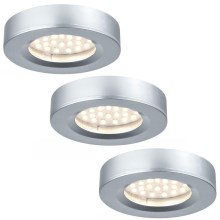 Paulmann  93580 - LOT 3xLED/2,5W Spot encastrable FURNITURE 230/12V