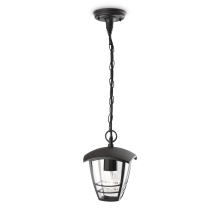Philips 15386/30/16 - Suspension extérieure MYGARDEN CREEK 1xE27/60W/230V noir
