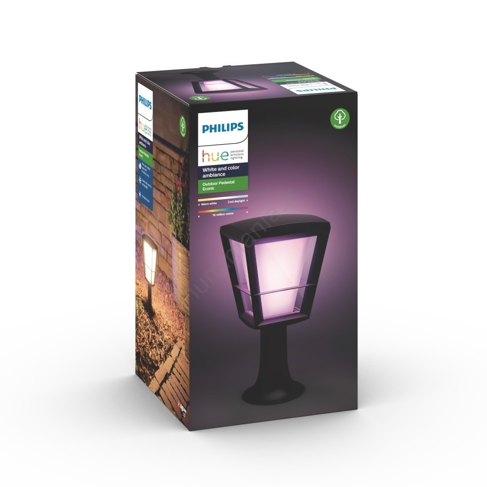 Philips Econic Led15w230v Led Lampe Ip44 Hue 1744130p7 Rgb Extérieure drxWeCBo