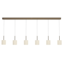 Philips 37308/06/16 - Suspension LED INSTYLE ORTEGA 6xLED/4,5W/230V