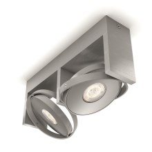 Philips 53152/48/P0 - Spot LED PARTICON 2xLED/4,5W/230V