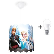 Philips 71751/01/16 - Suspension LED enfant DISNEY FROZEN 1xE27/9W/230V