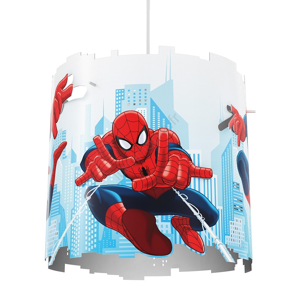 Spider Man Avec Marvel Philips 1xe2723w230v Fil Suspension Pour 717514016 Enfant f7bgyY6v
