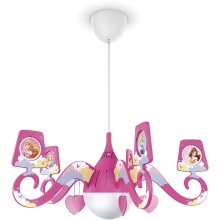 Philips 71757/28/16 - Lustre enfant DISNEY PRINCESS 1xE27/15W/230V