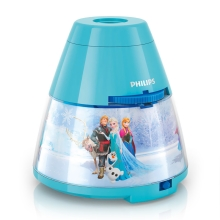 Philips 71769/08/16 - Projecteur enfant LED DISNEY FROZEN 1xLED/0,1W/3xAA