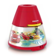 Philips 71769/32/16 - Projecteur LED enfant DISNEY CARS 1xLED/0,1W/3xAA