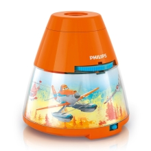 Philips 71769/53/16 - Projecteur LED enfant DISNEY PLANES 1xLED/0,1W/3xAA