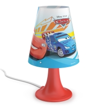 Philips 71795/32/16 - Lampe de table enfant DISNEY CARS LED/2,3W/230V