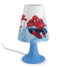 Philips 71795/40/16 - Lampe de table enfant SPIDER-MAN LED/2,3W/230V