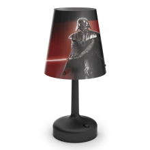 Philips 71889/30/16 - Lampe de table enfant STAR WARS DARTH VADER 1xLED/0,6W/3xAA