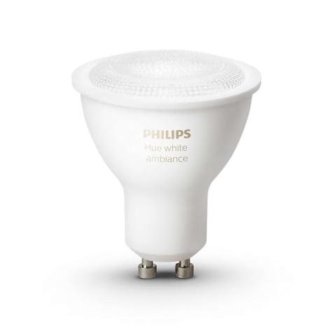 Philips 8718696598283 - Ampoule LED à intensité modulable HUE 1xGU10/5,5W