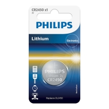 Philips CR2450/10B - Pile bouton lithium CR2450 MINICELLS 3V