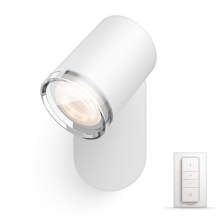 Philips - Luminaire LED à intensité modulable salle de bain 1xGU10/5,5W IP44