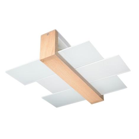 Plafonnier FENIKS 2 2xE27/60W/230V bois naturel