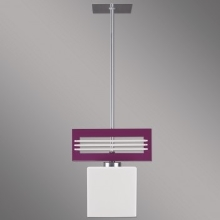 Prezent 51261 - Suspension SANGA 1xE14/60W/230V violet