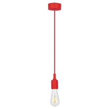 Rabalux 1414 - Suspension ROXY E27/40W rouge