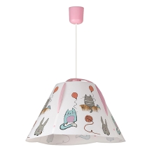 Rabalux 4567 - Suspension enfant CATHY E27/60W