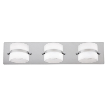 Rabalux 5491 - Applique murale LED salle de bain TONY 3xLED/5W/230V IP44