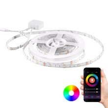 Ruban dimmable RGB LED Wi-fi + fonction musique LED/16W 5 m Tuya