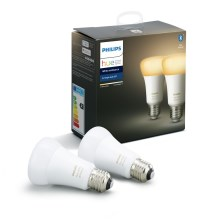 SET 2x Ampoule LED à intensité modulable Philips HUE WHITE AMBIANCE E27/8,5W/230V 2200-6500K