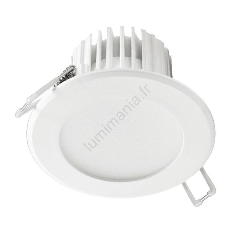 Spot encastrable LED salle de bain LED/7W/230V 2800K blanc IP44
