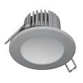 Spot encastrable LED salle de bain LED/7W/230V 2800K gris IP44