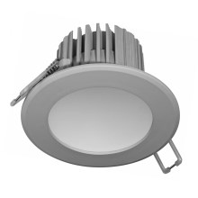 Spot encastrable LED salle de bain LED/7W gris IP44
