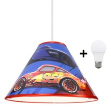 Suspension LED avec fil DISNEY CARS 1xE27/15W/230V