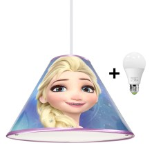 Suspension LED avec fil DISNEY FROZEN 1xE27/15W/230V