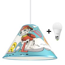 Suspension LED avec fil PAW PATROL 1xE27/15W/230V