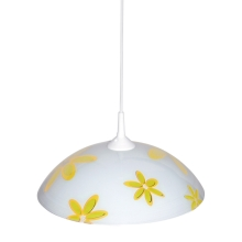 Top Light 1521/Kv/ZL - Lustre 1xE27/60W/230V fleurs jaune