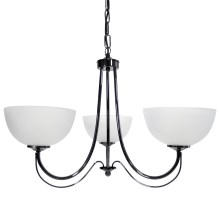 Top Light 80/3/2/Č-Cr - Suspension avec chaîne MURANO 3xE14/60W/230V