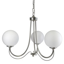 Top Light 80/3/K/CR - Suspension avec chaîne K 3xE14/60W/230V