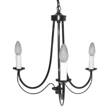 Top Light 80/3/Sv/Č-Cr - Suspension avec chaîne 3xE14/60W/230V