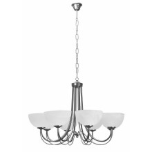 Top Light 80/8/2/Č-Cr - Suspension avec chaîne MURANO 8xE14/60W/230V