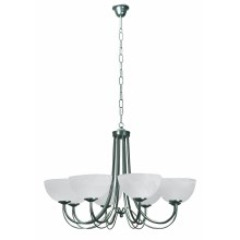 Top Light 80/8/K/Č - Suspension avec chaîne K 8xE14/60W/230V