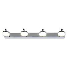 Top Light - Applique murale LED salle de bain HUDSON 4xLED/5W/230V IP44
