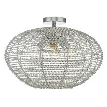 Top Light DAVOS OVAL PL XL - Lustre plafonnier 4xE27/60W/230V