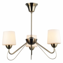 Top Light Romantica 3 - Lustre avec tige ROMANTICA 3xE14/60W/230V